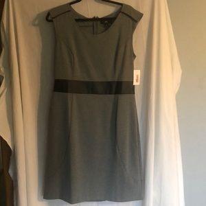 Massimo Dresses - Sleeveless gray dress, size large.